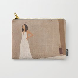 New White Dress II Carry-All Pouch