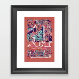 ACT 1 Framed Art Print