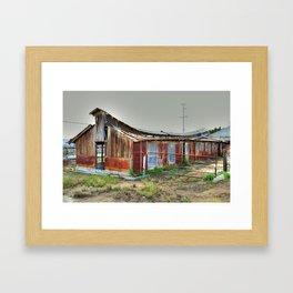 The Barn is still Up Framed Art Print