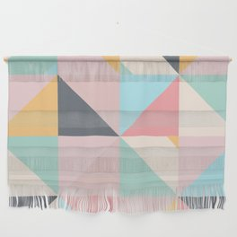 Geometric Pattern XV Wall Hanging