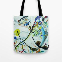 Vassily Kandinsky 1921 Segment blue Tote Bag