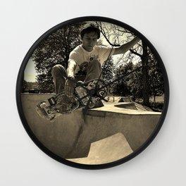 Adam Lindles 1 Wall Clock