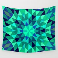 teal Wall Tapestries featuring teal. by 2sweet4words Designs