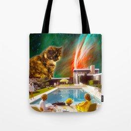 Cuddle Unit 5 with Midcentury Nebula Tote Bag