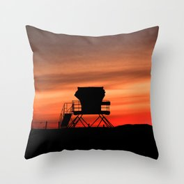 Tower 22 Sunset Throw Pillow