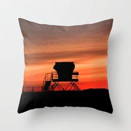 Tower 22 Sunset Throw Pillow