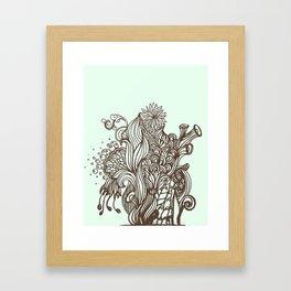 Mint Chocolatey  Framed Art Print