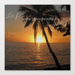 Beautiful Places Canvas Print