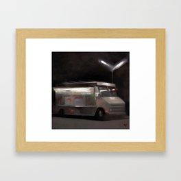 Taco Truck Framed Art Print