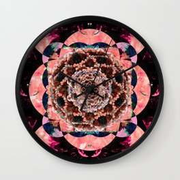 Eye of the Flower Wall Clock