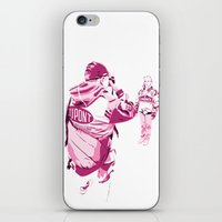 racing iPhone & iPod Skins featuring Racing Fans by Umbrella Design