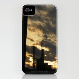 combustion sky iPhone Case