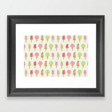 Ice Cream!!!  Framed Art Print