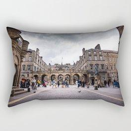 Royal Mile in Edinburgh, Scotland Rectangular Pillow