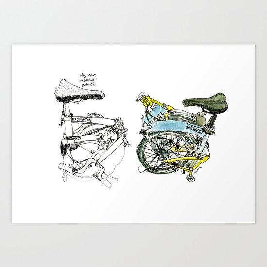 My brompton Art Print
