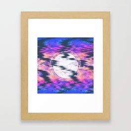 -concentric- Framed Art Print