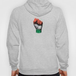 Hungarian Flag on a Raised Clenched Fist Hoody