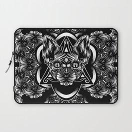 Sphynx floral bw Laptop Sleeve