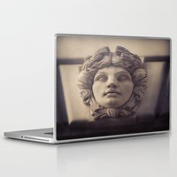 no face Laptop & iPad Skins featuring Face by Blue Lightning Creative