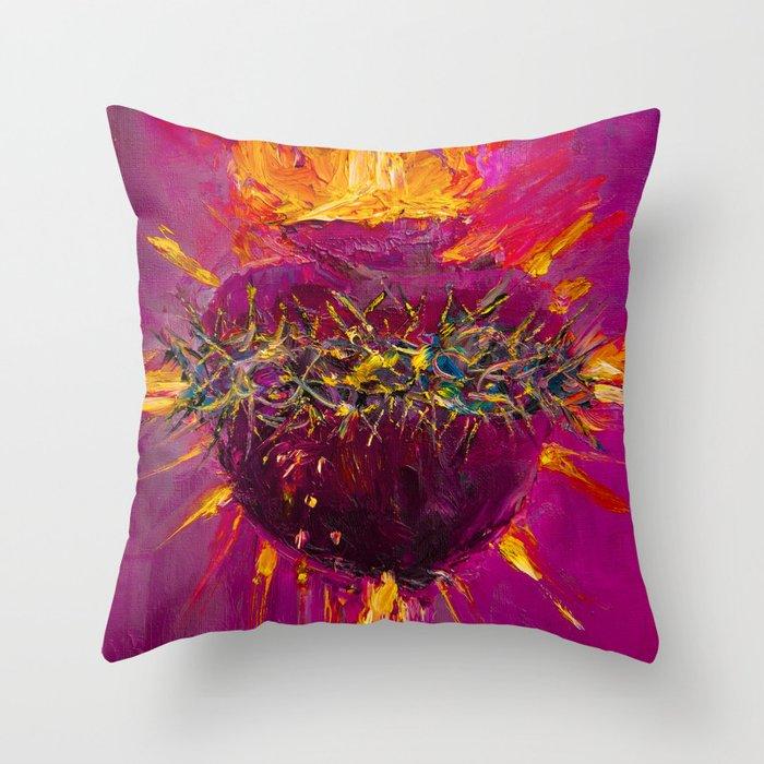 Sacred Love I Throw Pillow
