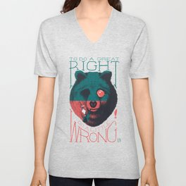 Do a Great Right! Unisex V-Neck