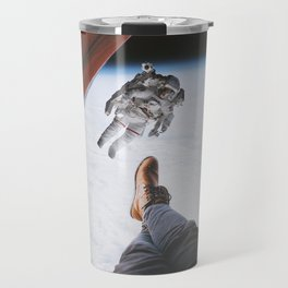 Camping in space Travel Mug