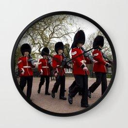 Changing the Guard London Wall Clock