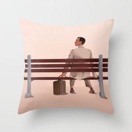 Forrest Gump Throw Pillow