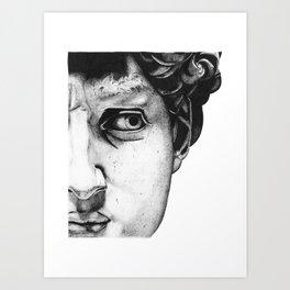 Hello David Art Print