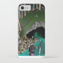 Party Approaching Cave iPhone Case