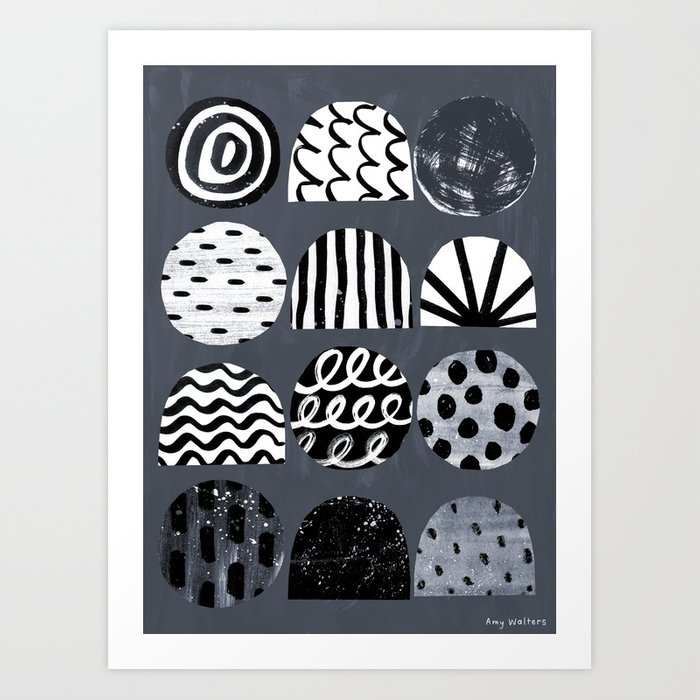 A Mixed Bag Art Print