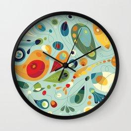 Wobbly Spring Wall Clock