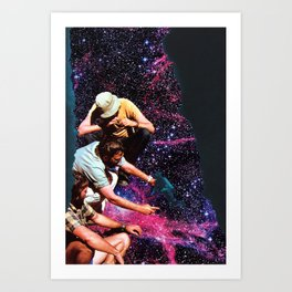 Welcome To The New World I Art Print