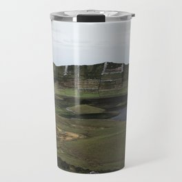 Mouth of a collapsed volcano Travel Mug