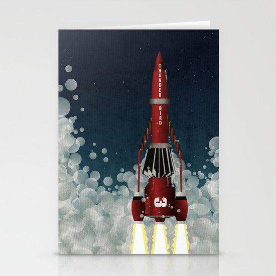 Thunderbird 3 Stationery Cards