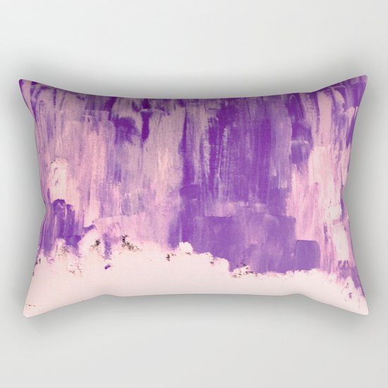 Snow Dreams in Autumn, Solar Flares Series Rectangular Pillow