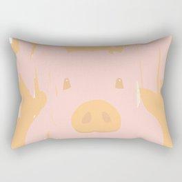 Little piglet Rectangular Pillow