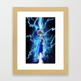 Godspeed Killua Framed Art Print