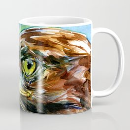 Golden Eagle And Butterfly by Kathy Morton Stanion Coffee Mug