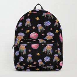 Owl in space Backpack