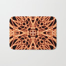 Flaming Chaos 7 Bath Mat