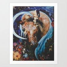 Crescent Dream3 Art Print
