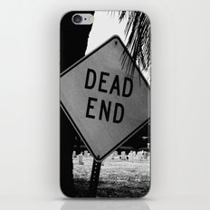 Dead End iPhone & iPod Skin