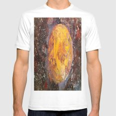 Lunar  SMALL White Mens Fitted Tee