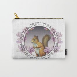 Keep Smiling, Because Life Is a Beautiful Thing Carry-All Pouch