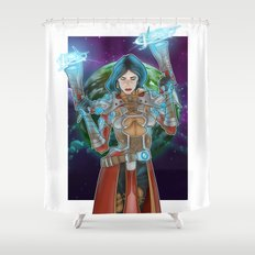 Spellslinger Shower Curtain