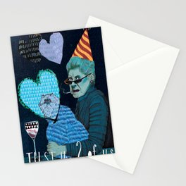 Just the 2 0f Us Stationery Cards