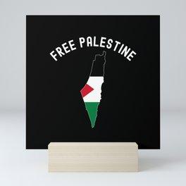 Free Palestine Vintage Mini Art Print