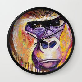 Wild In Thought Wall Clock
