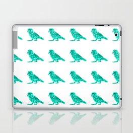 Kea Strut - Turquoise Laptop & iPad Skin